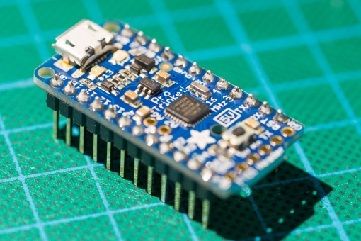 The microcontroller of the project.