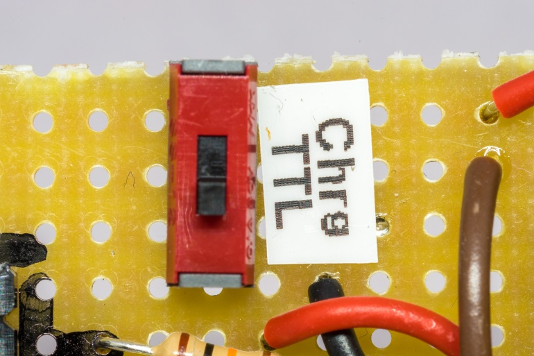 Data Logger Charge from TTL
