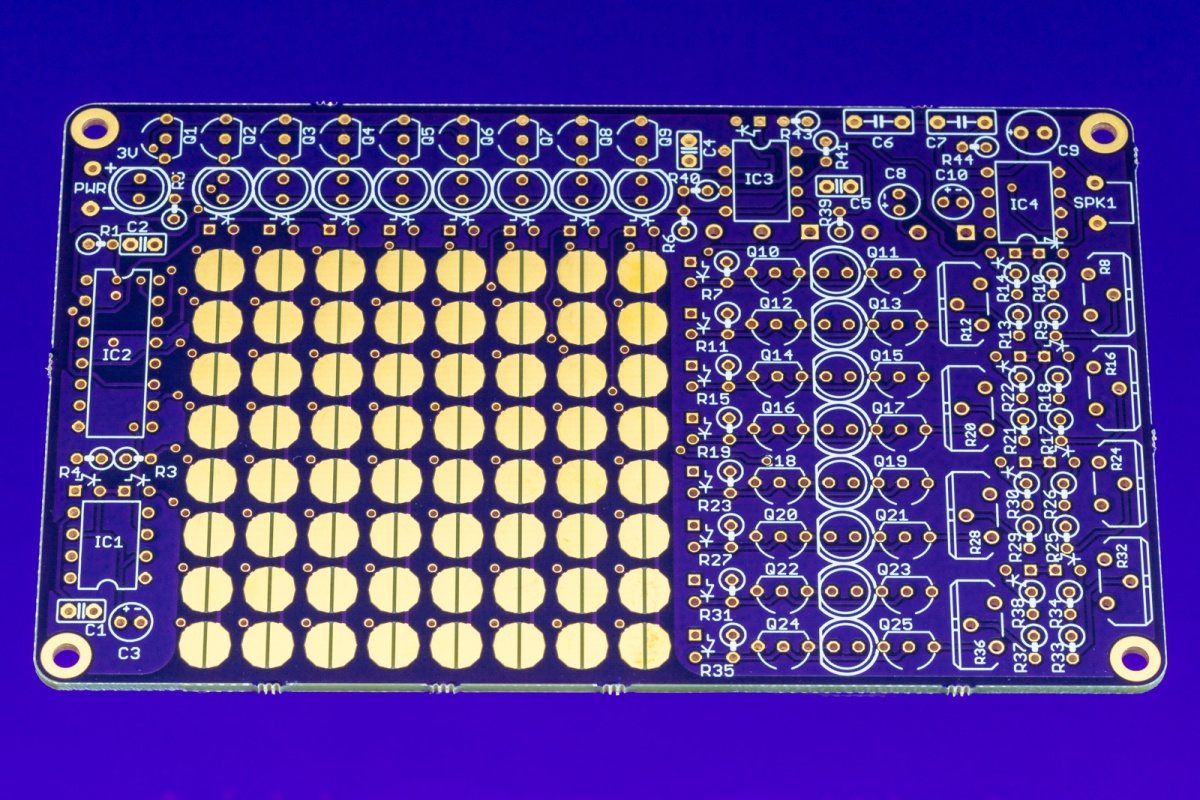 Outmoded Sequencer PCB Front